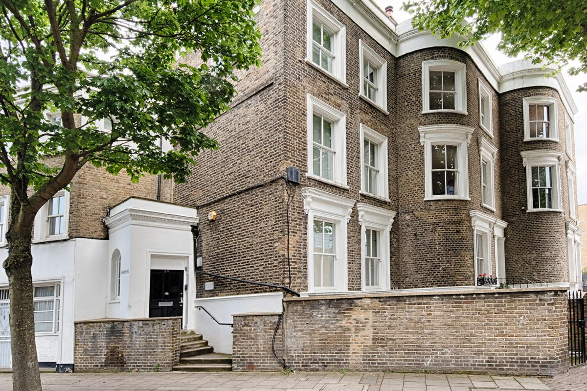 Cambridge Adult ADHD & ASD Clinic, London, Exterior